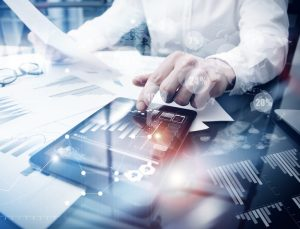 Trader working Market Report Document