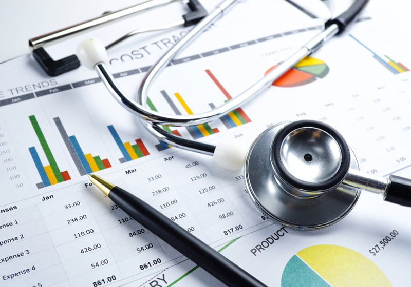 Stethoscope, Charts and Graphs paper