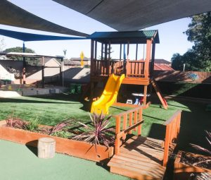 Kids playground outdoor
