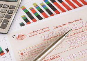 Australian annual corporate tax return