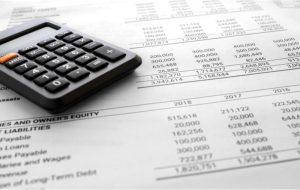 Balance sheet summary report and calculator